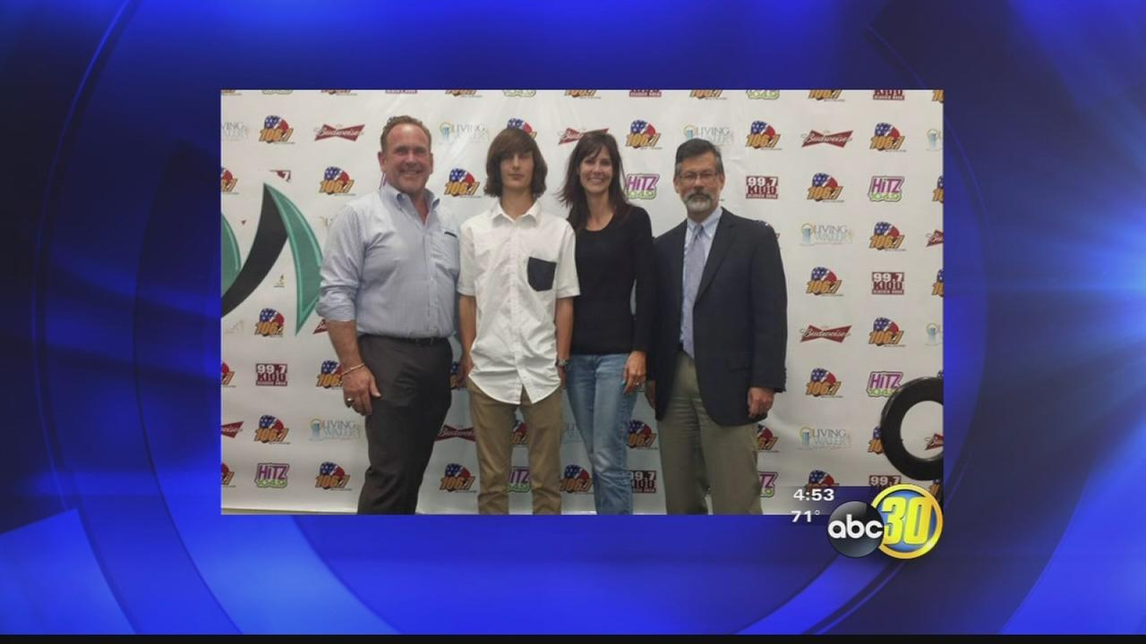 Visalia student wins new car for perfect attendance