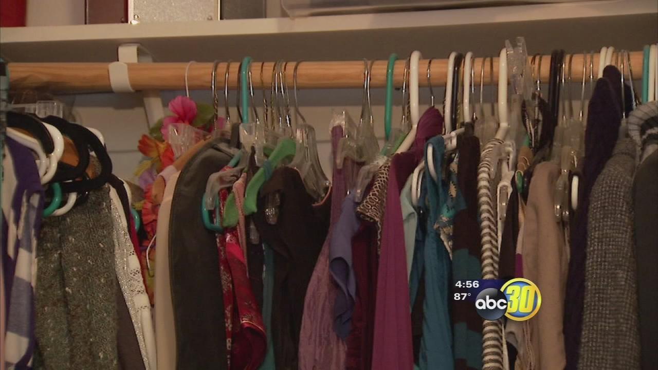 closet clutter