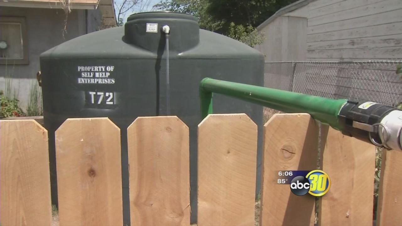 Thieves making drought relief efforts difficult in East Porterville