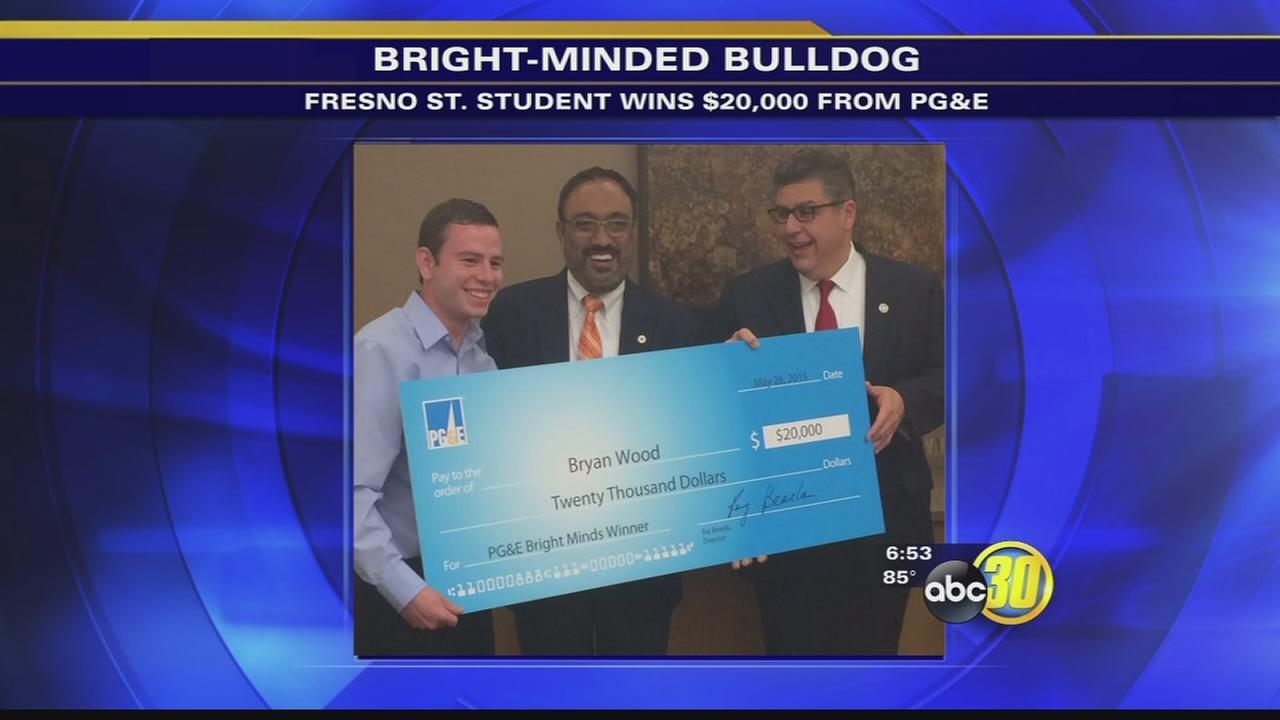 Fresno State student wins $20,000 from PG&E