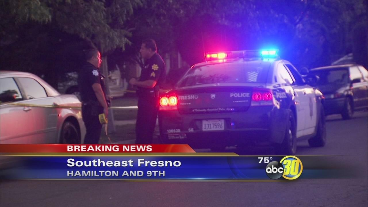 Police in Fresno investigate two separate shootings