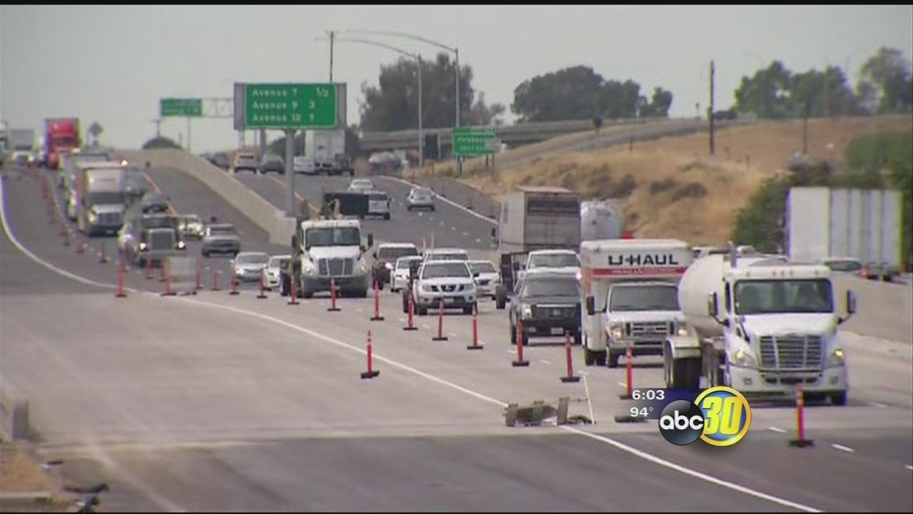 Highway 99 widening project now complete