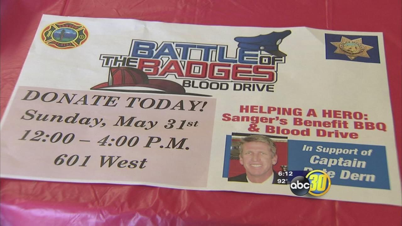 Helping a Hero event benefits family of injured Fresno fire captain