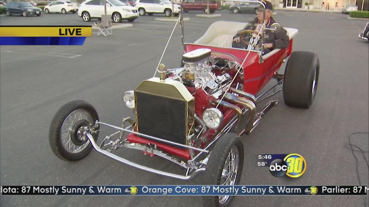 Monthly car show Rods on the Bluff  begins this weekend