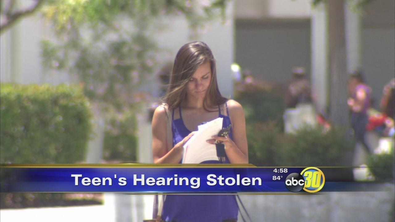 Buchanan High School senior devastated after theft of expensive cochlear implant