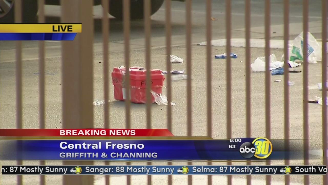 Fresno Police investigate a stabbing in Central Fresno