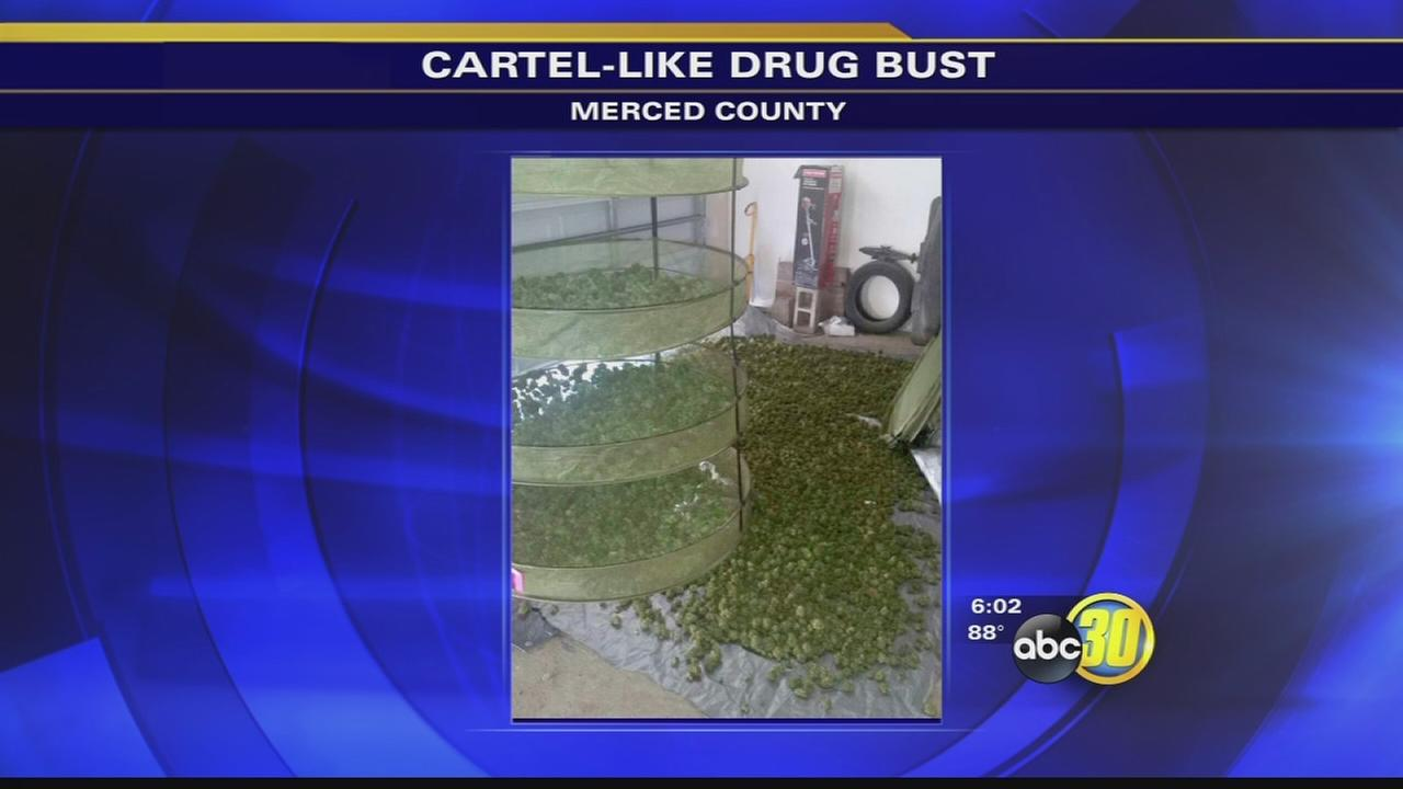 8 arrested in Merced County cartel-like drug operation