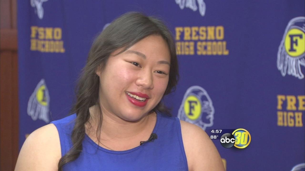 Fresno High School valedictorian leaving behind a lasting impression