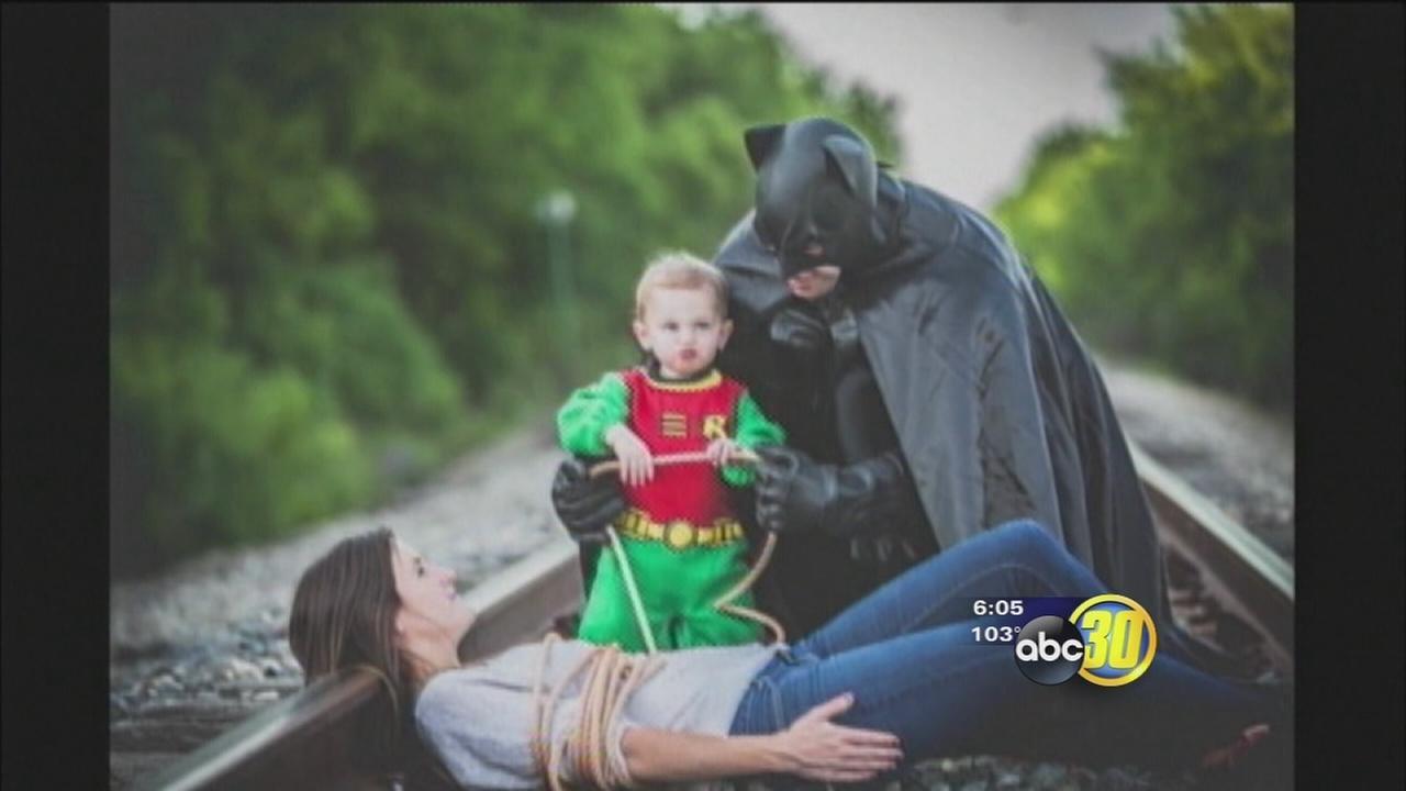 Batman themed Fathers Day gift escalates to family threats