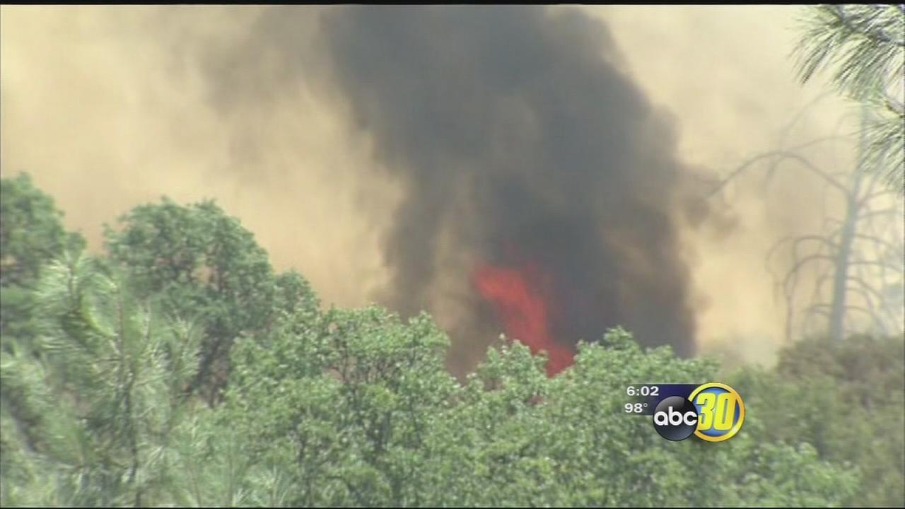 Corrine Fire near North Fork jumps to 1,000 acres