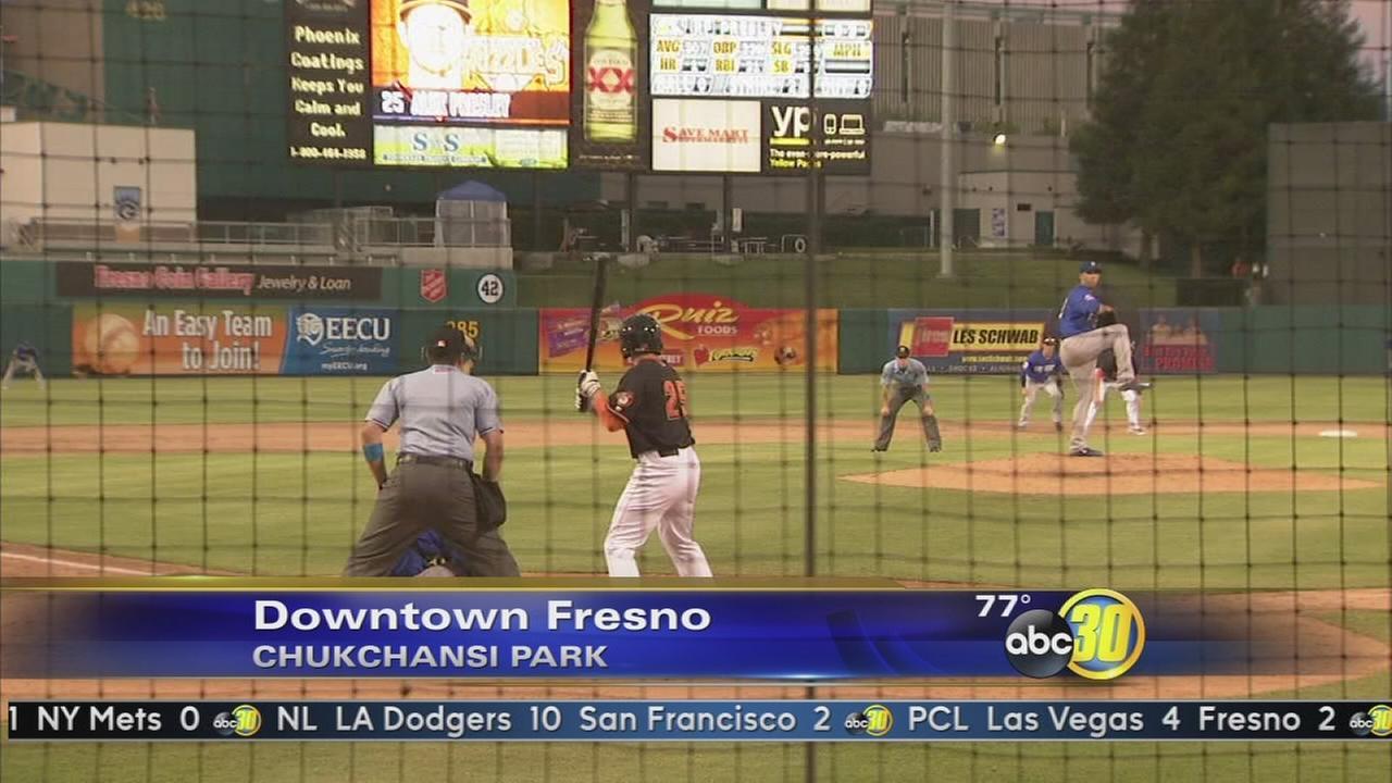 Las Vegas 51s top Fresno Grizzlies
