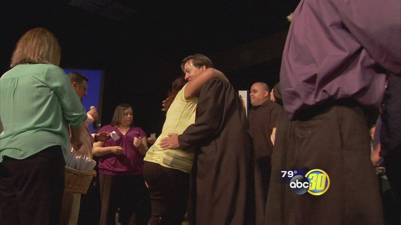 More than 200 recovering addicts graduate in Tulare County