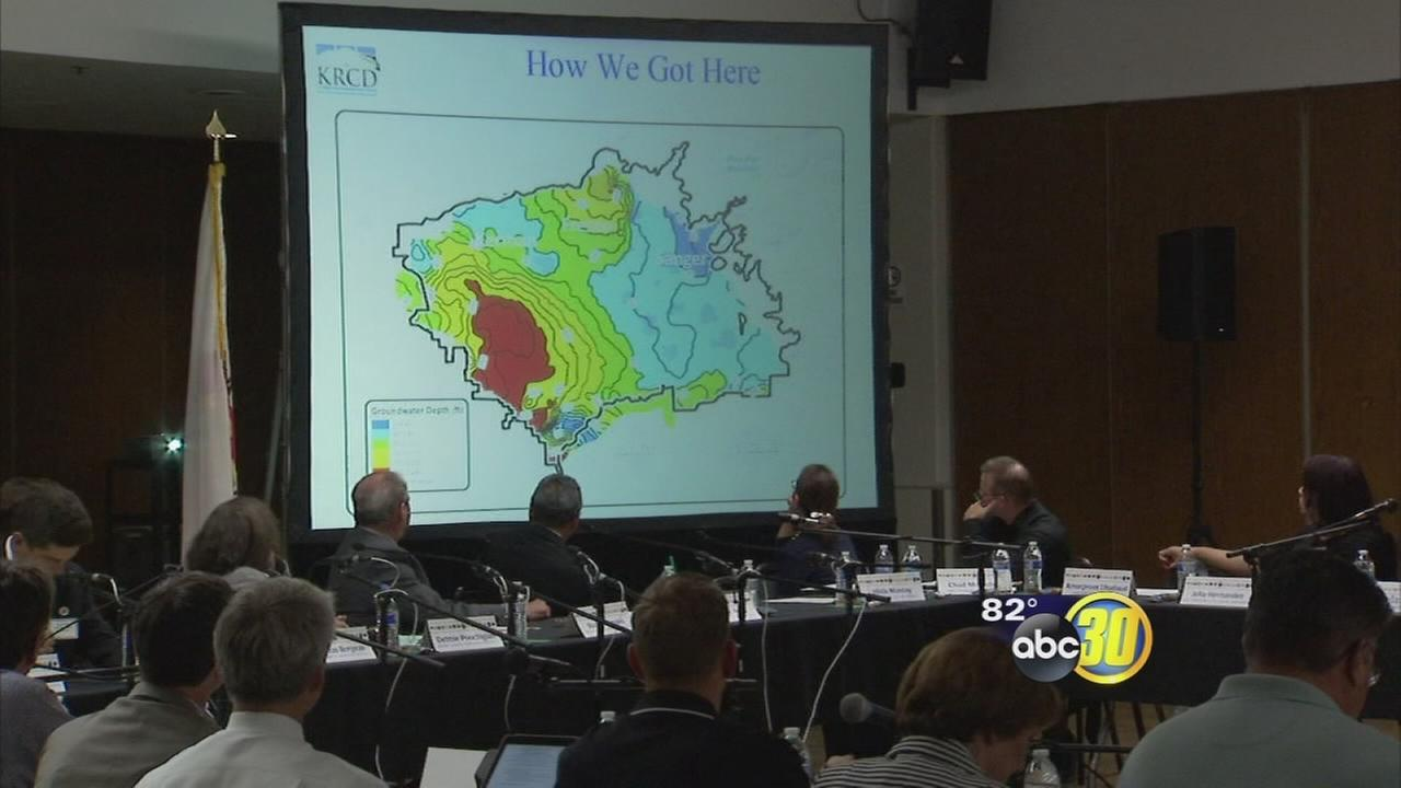 Leaders talk drought, crime at Fresno summit