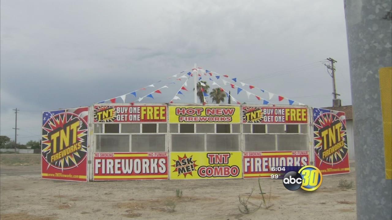 $36K in fireworks stolen from Fowler church