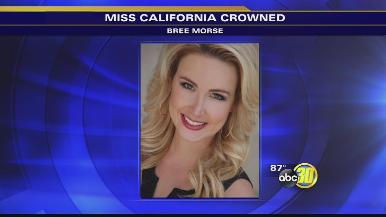Bree Morse, Miss Orange Coast, crowned Miss California