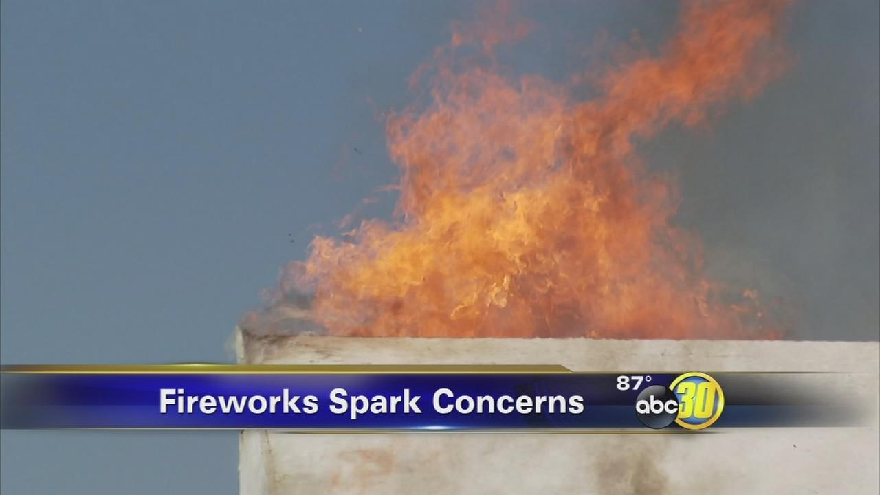 Fireworks stands open for business as firefighters warn of dangers