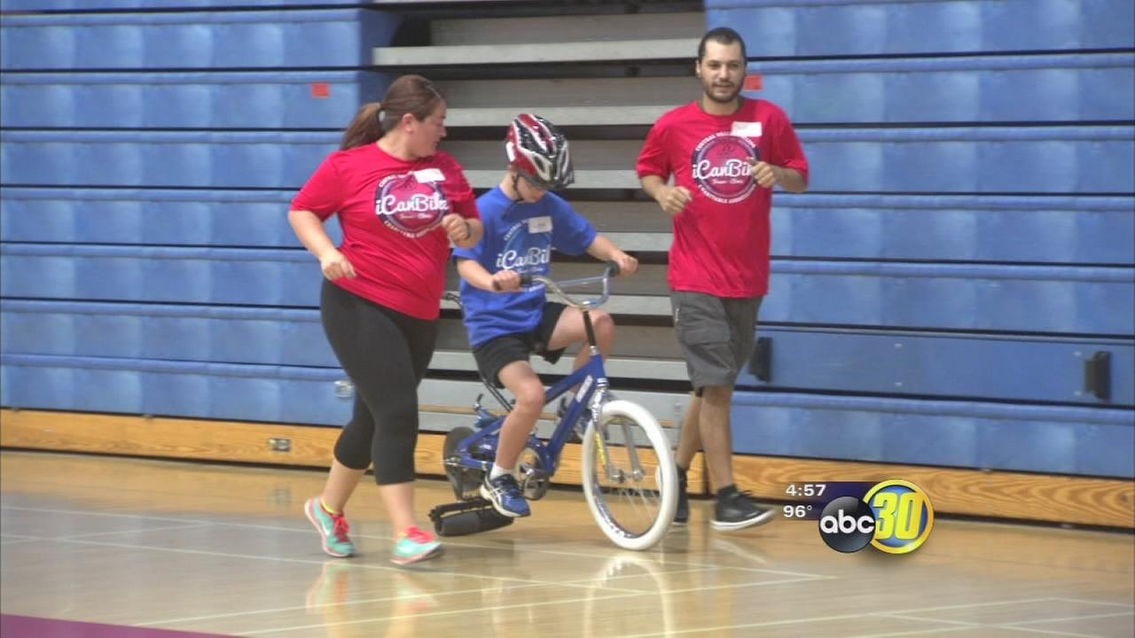 I Can Bike gives Valley kids with disabilities chance to ride