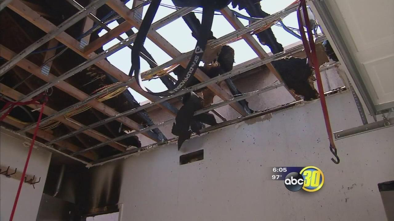 Merced firefighter called to his own house fire, fireworks to blame