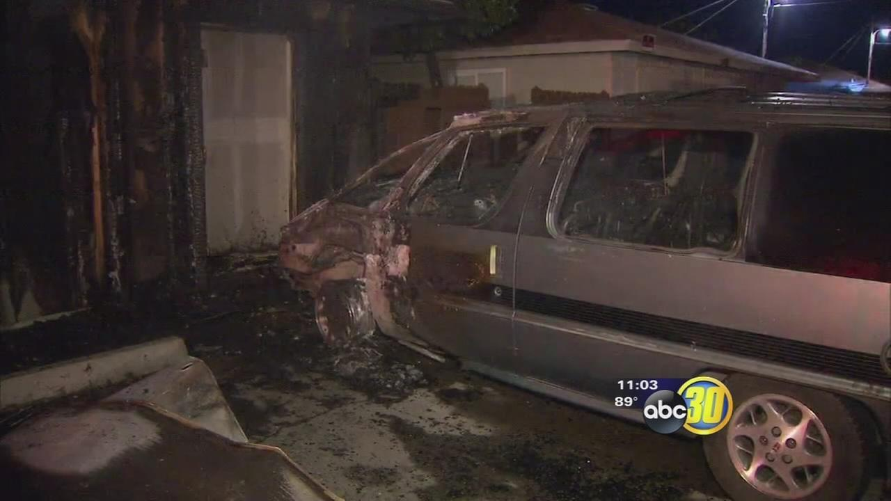 Merced fires that damaged vehicles, apartments ruled arson