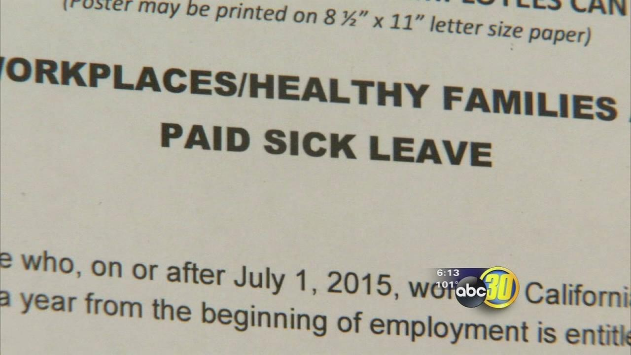 Paid sick leave law takes effect, Valley businesses reluctantly comply