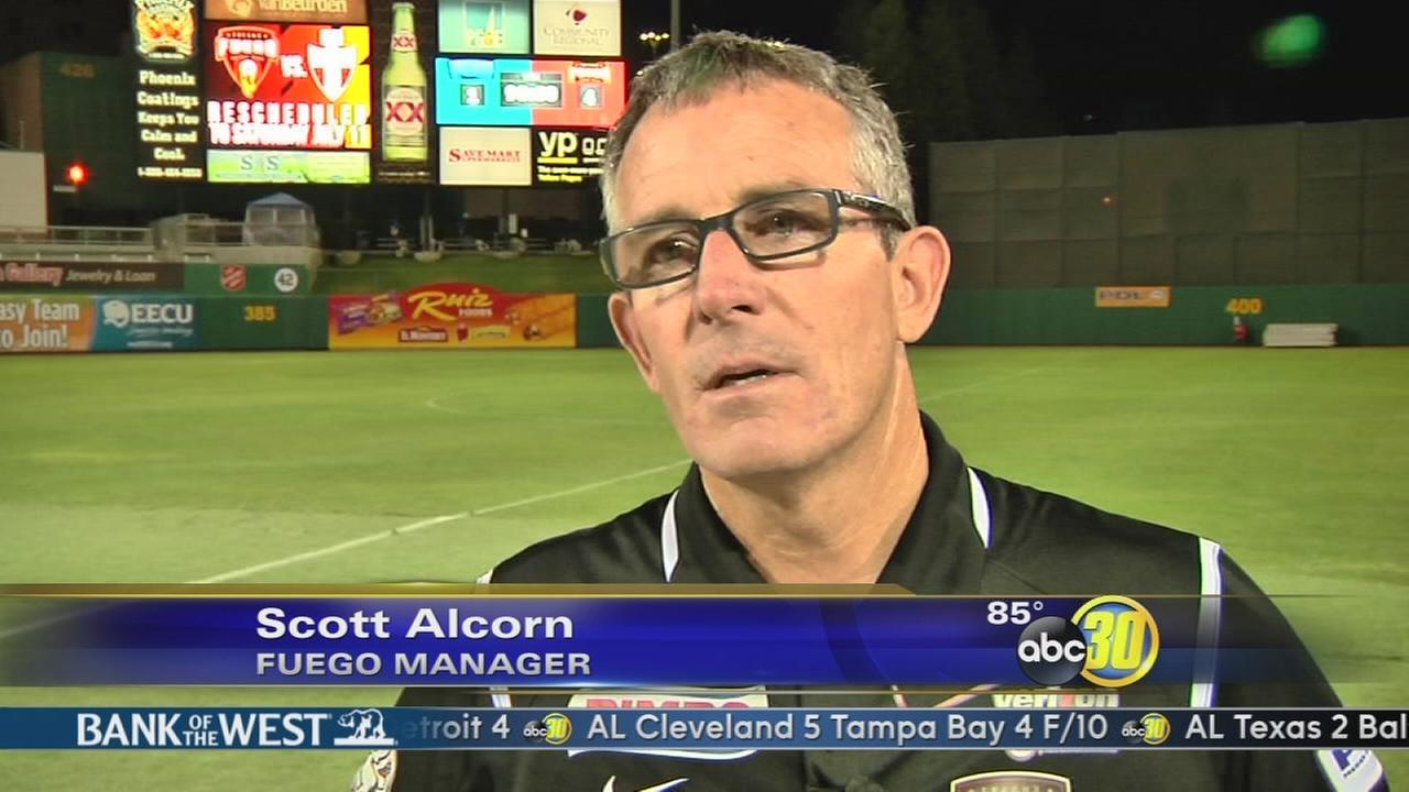 Alcorn Steps Down As Fuego Manager