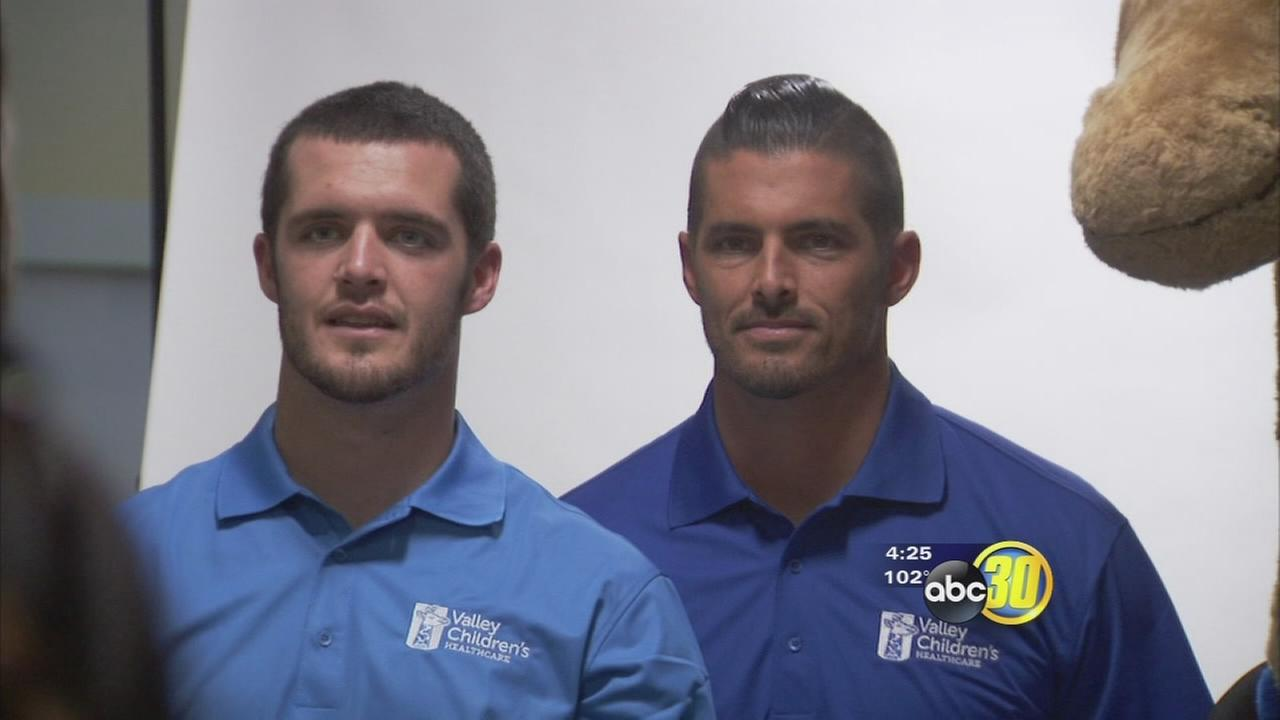 Good Sports: Carr brothers team up with Valley Childrens Hospital