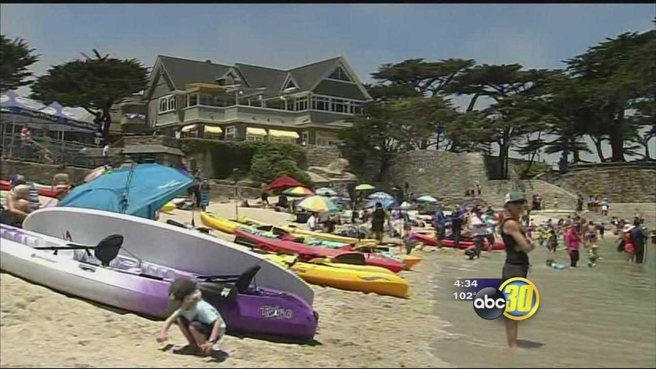 Valley residents look to escape the heat on 4th of July weekend