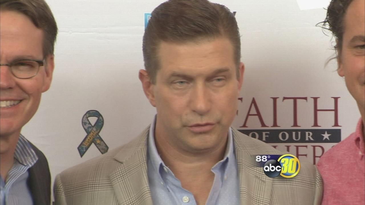 Stephen Baldwin makes appearance at Faith of our Fathers movie premiere in Fresno