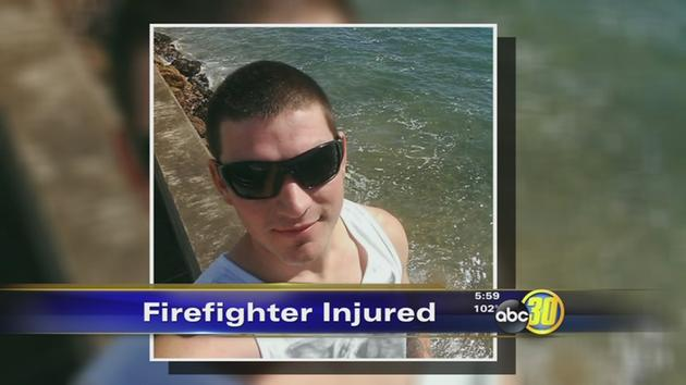 Firefighter suffers serious injures after a tree fell on him near Three Rivers
