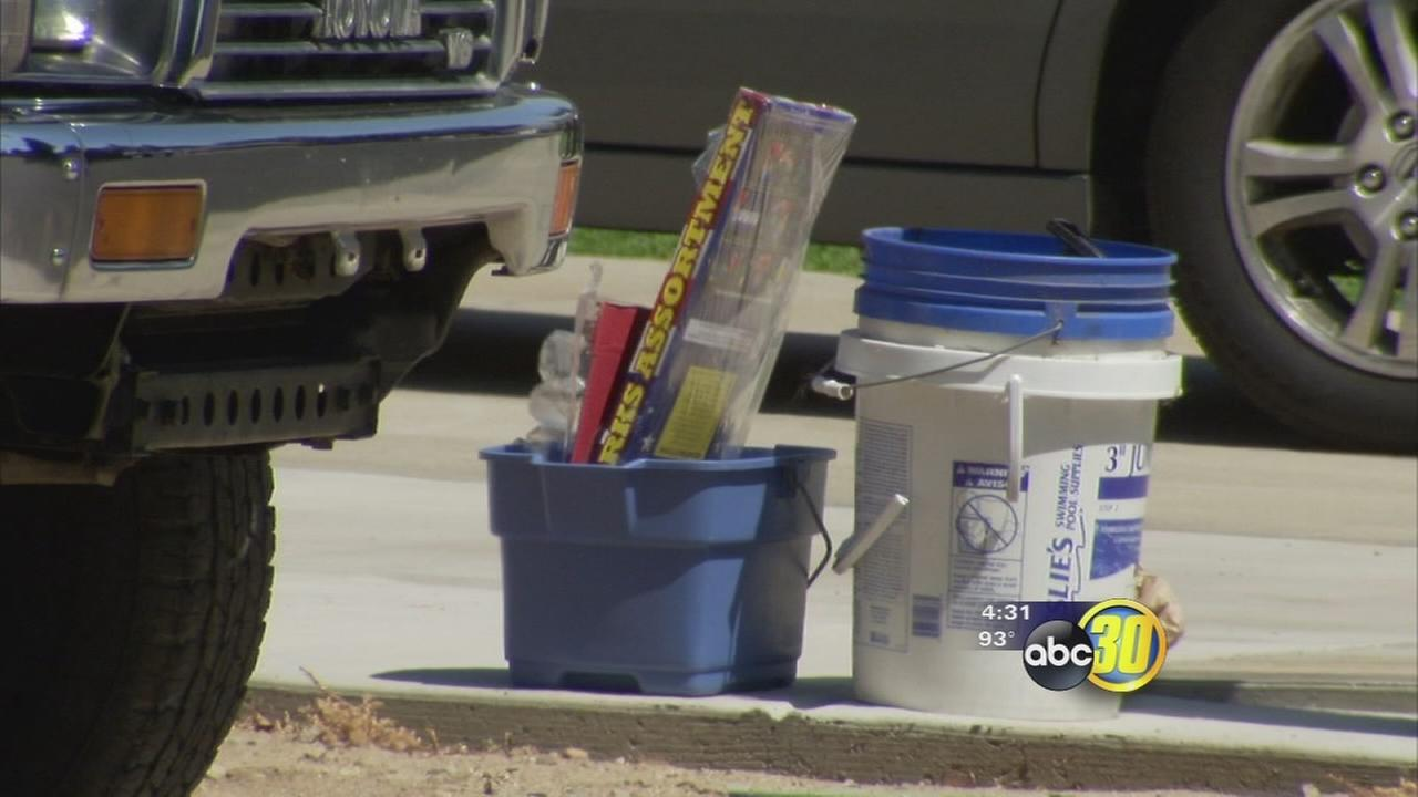 Undercover Clovis firefighters crack down on illegal fireworks