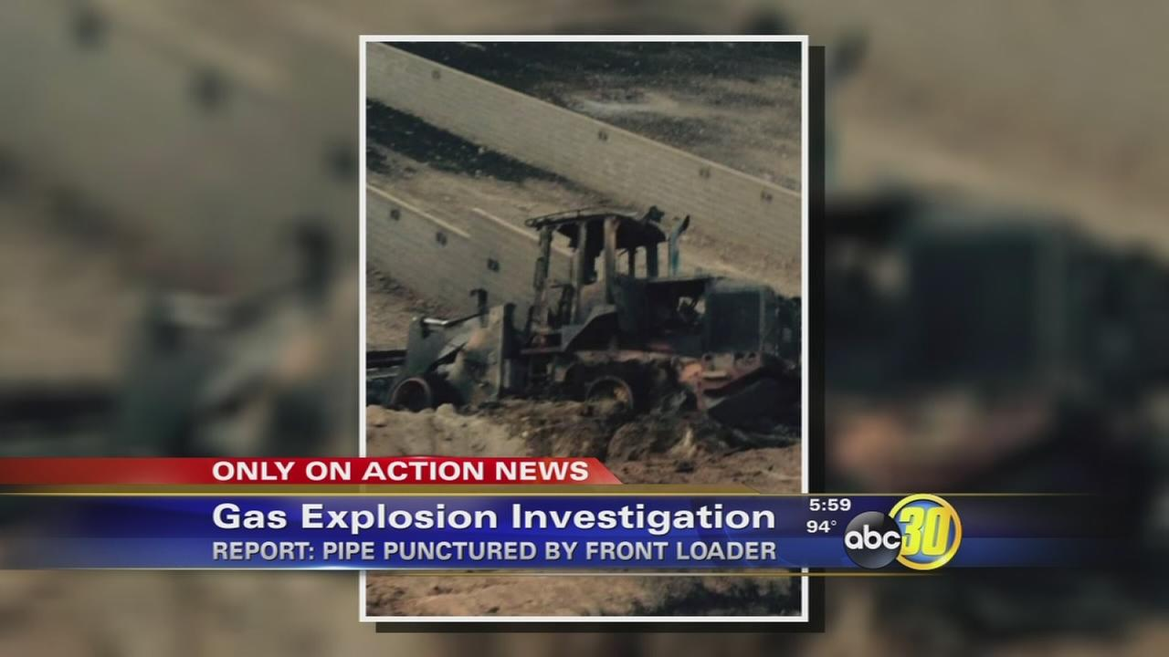 Front loader to blame for deadly explosion at Fresno County Peace Officers Gun Range