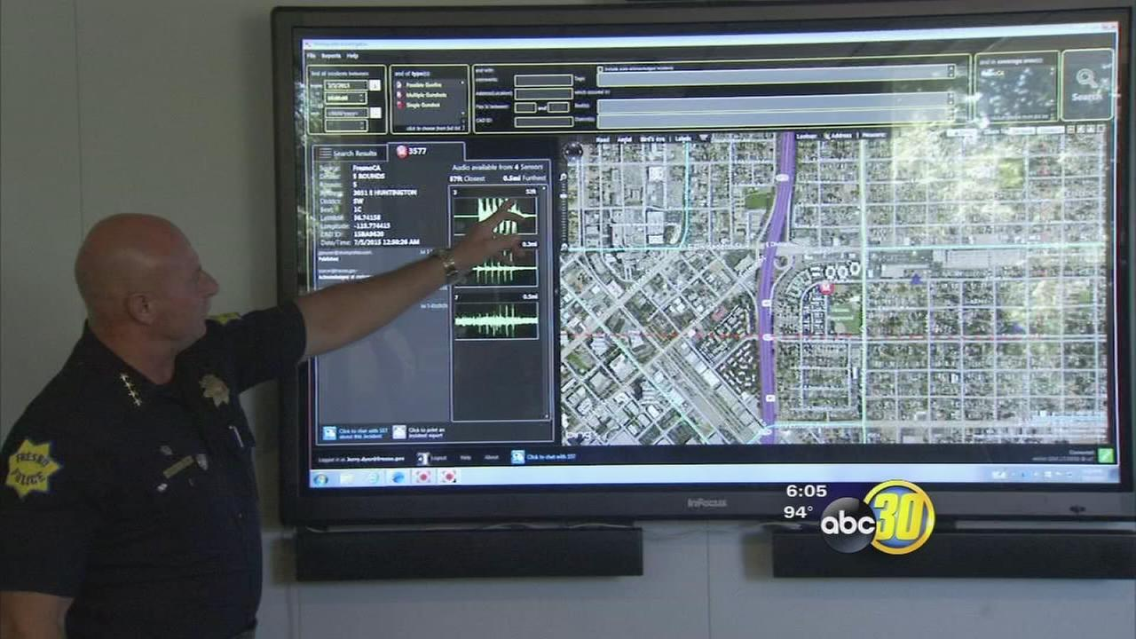 City of Fresno installs system to track gunshots