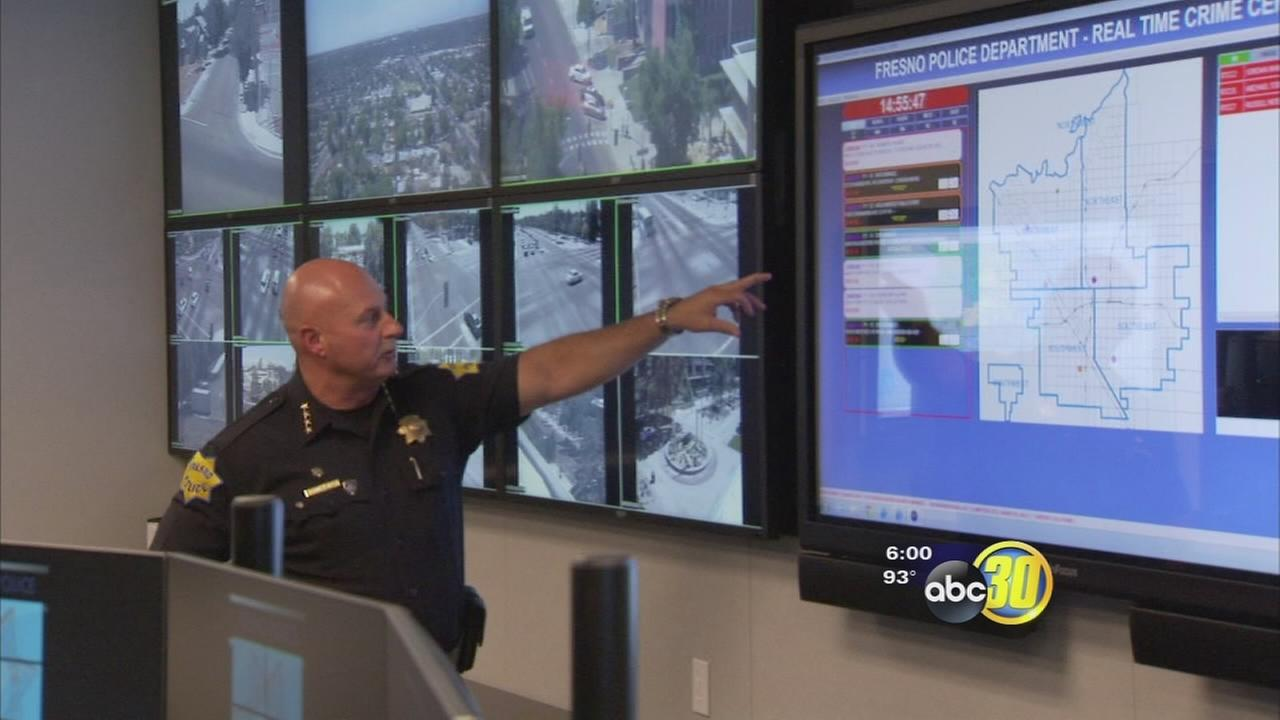 Fresno police unveil Real Time Crime Center, civil rights advocates worry