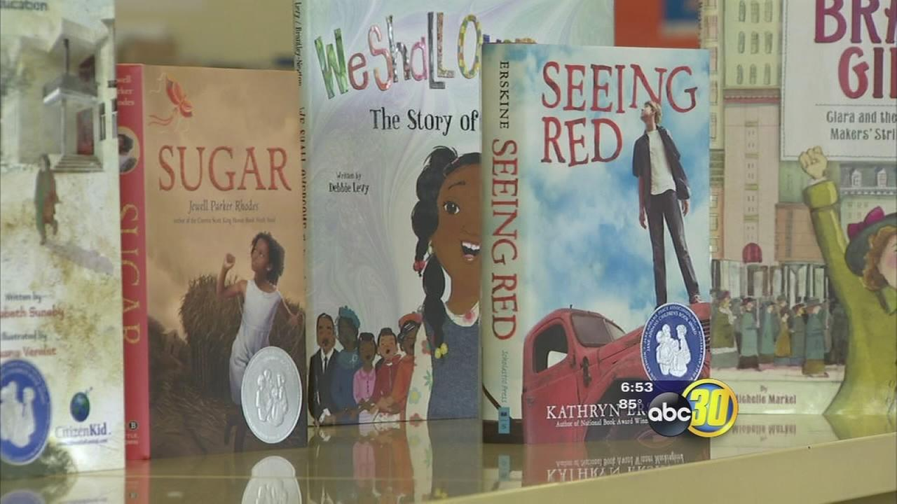 Womens group makes special donation to Central Fresno library