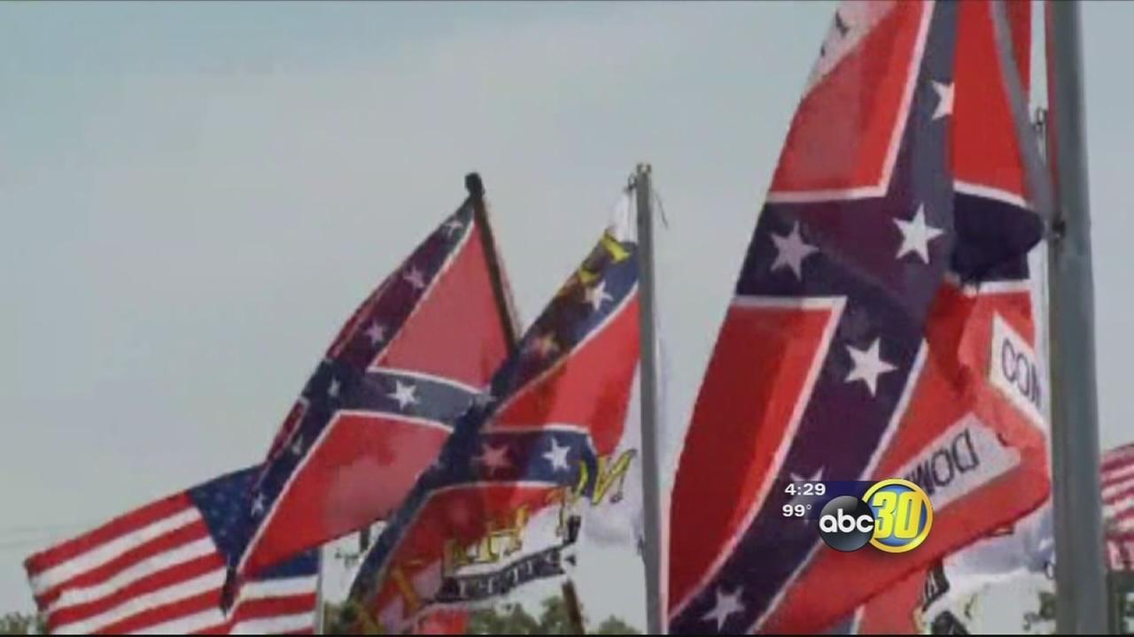 City of Fresno bans Confederate flag