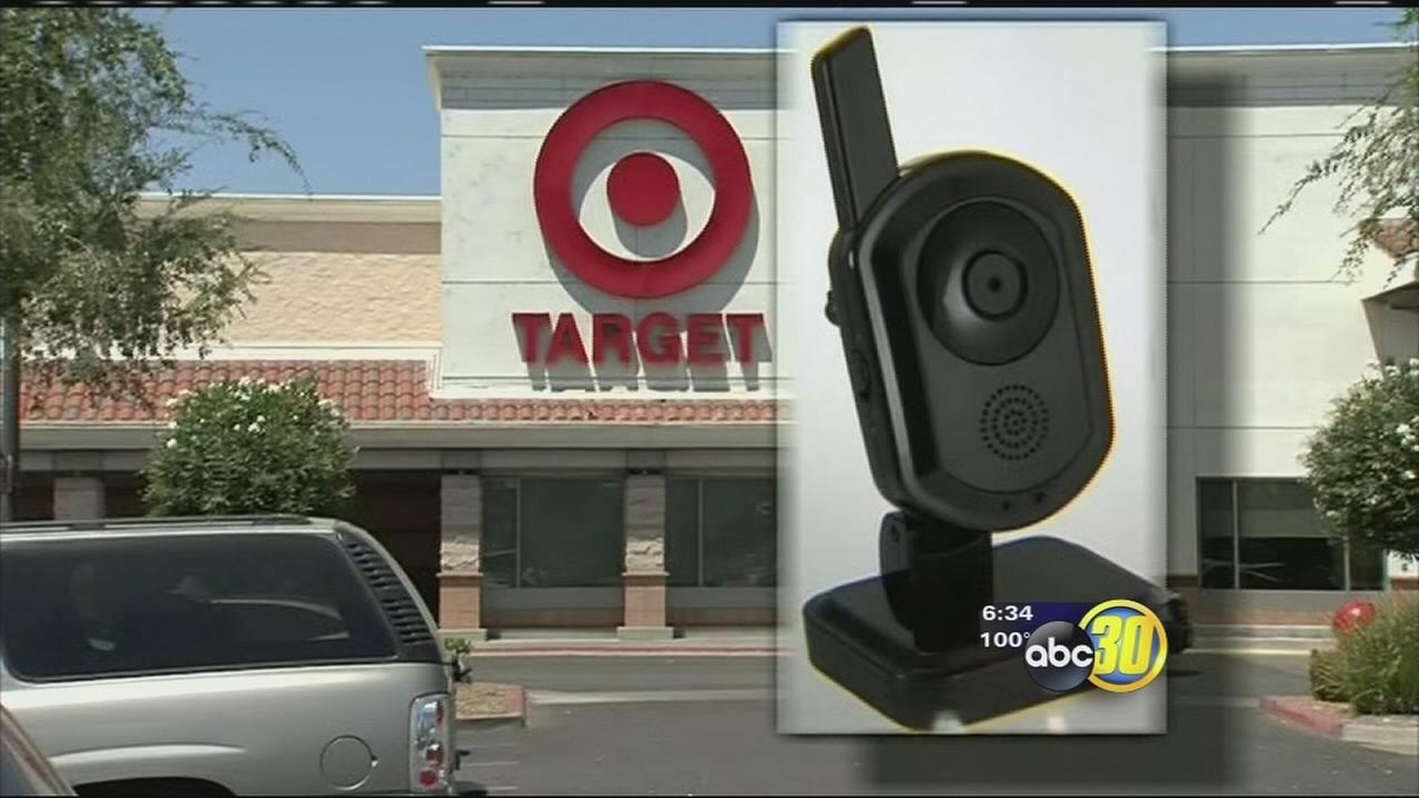 Hidden camera found in restroom of Hanford Target store
