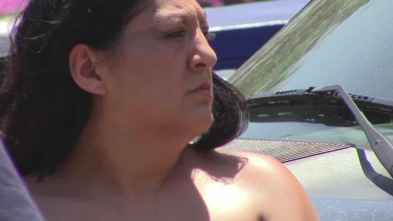 RAW VIDEO: Woman arrested for auto theft outside Fresno County Jail