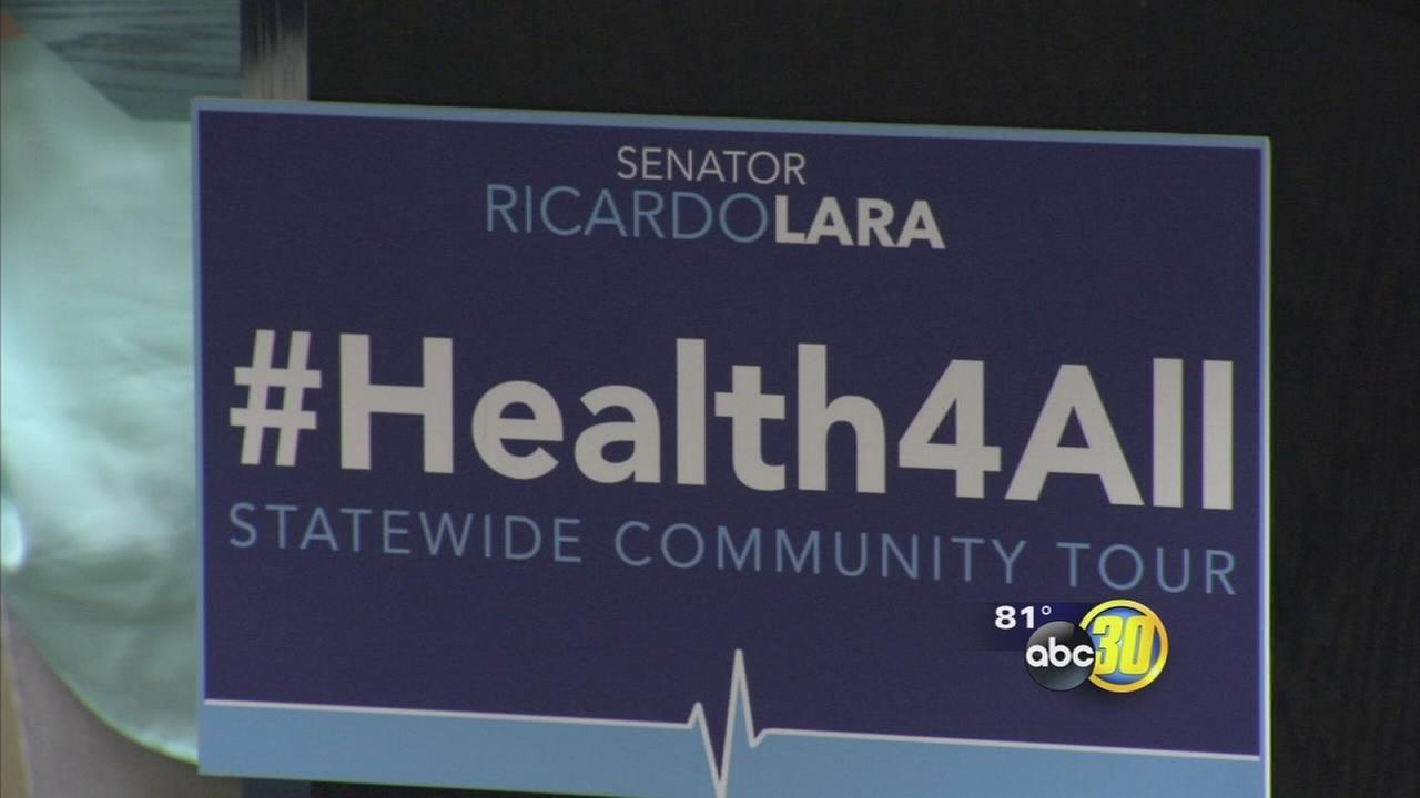 Bill pushes health coverage for all undocumented residents