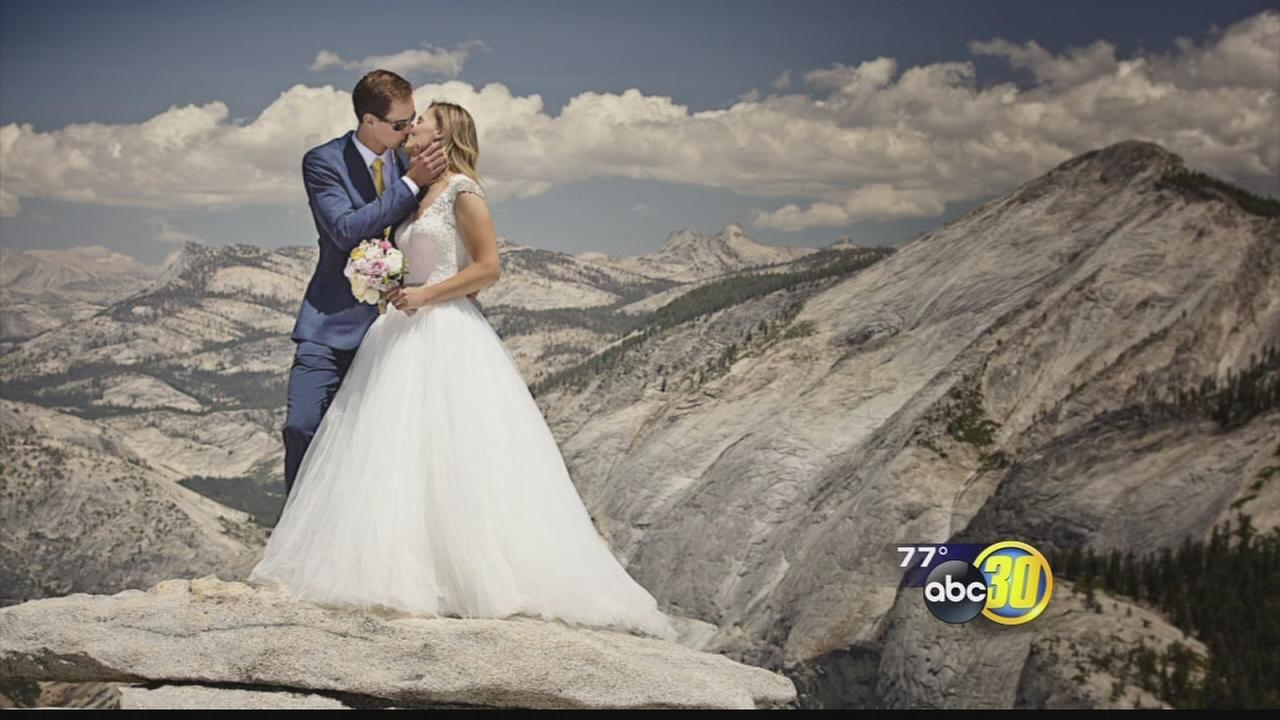 Bay Area couple gets married at top of Yosemites Half Dome