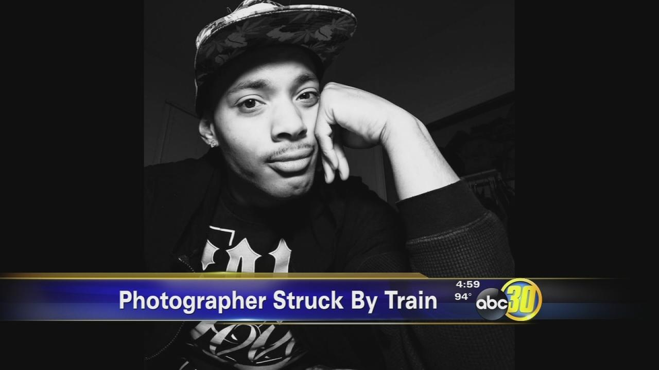Photographer hit, killed by train during photo shoot in Downtown Fresno