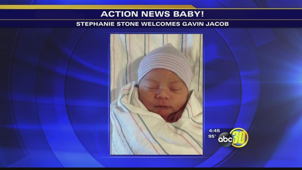 Action News anchor Stephanie Stone gives birth to baby boy