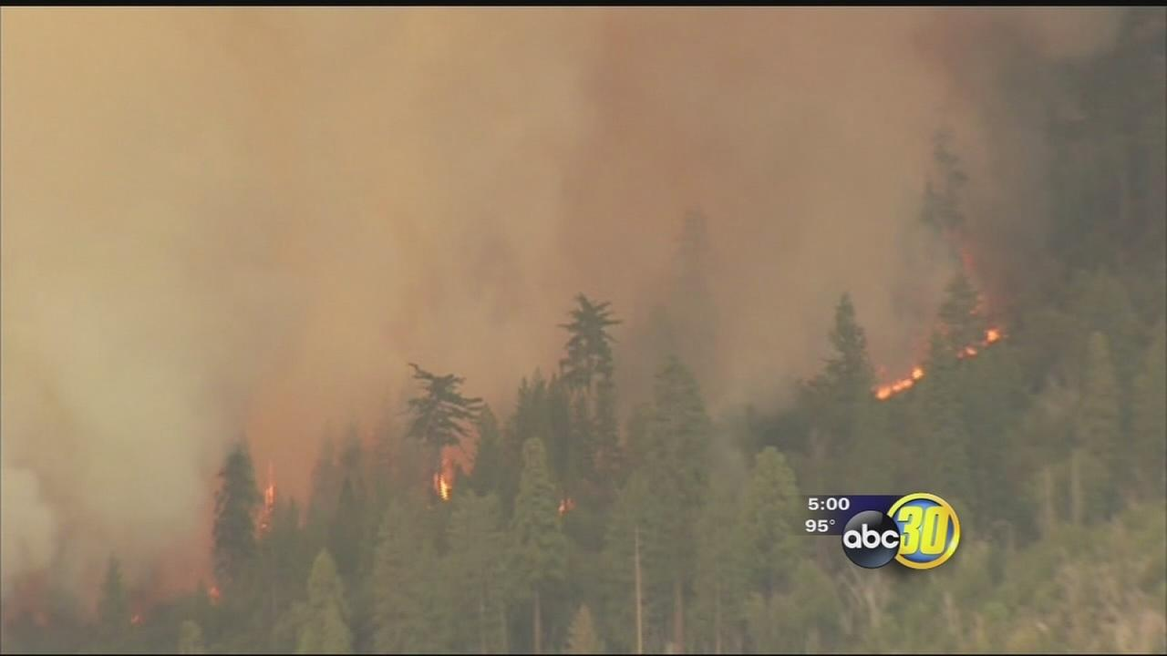 Willow Fire scorches more than 1,500 acres near Bass Lake
