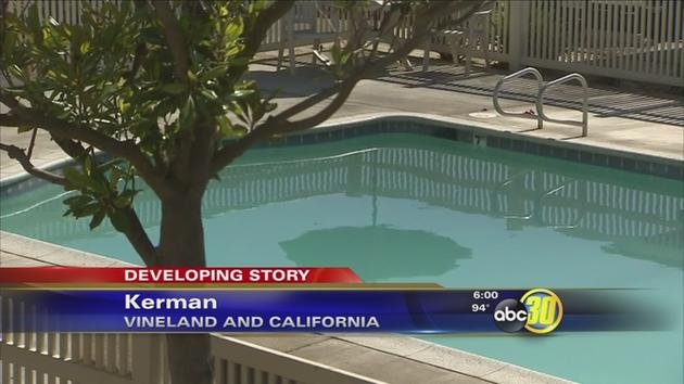 Drowning in School Pool Drowns in Kerman Pool