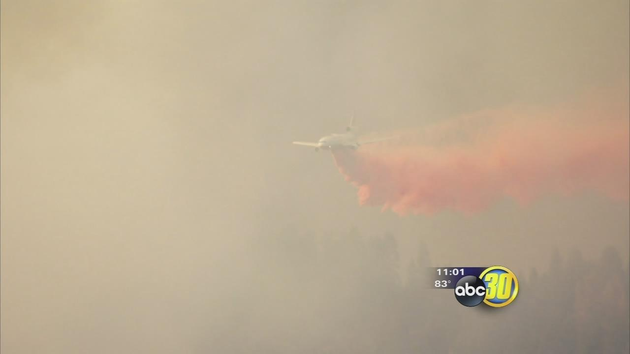 Willow Fire jumps to 1,739 acres, 5 percent contained