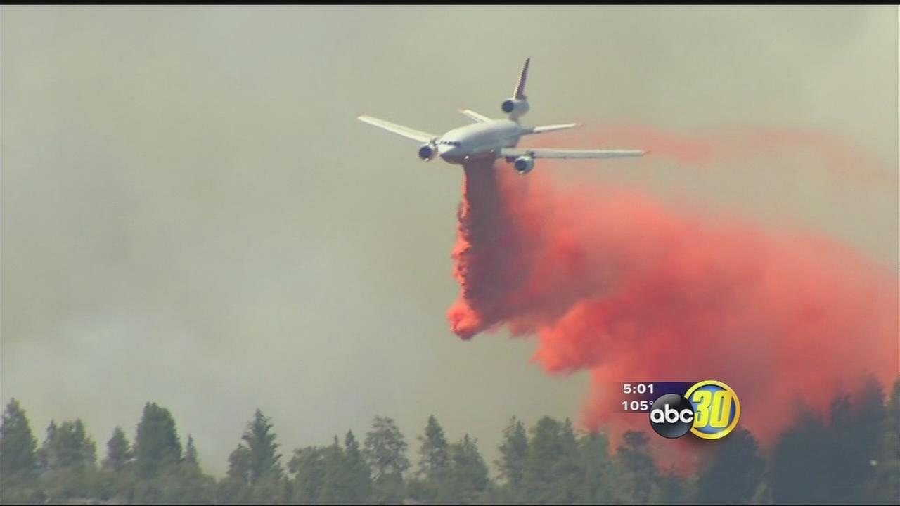 Willow Fire jumps to 2,077 acres, 30 percent contained