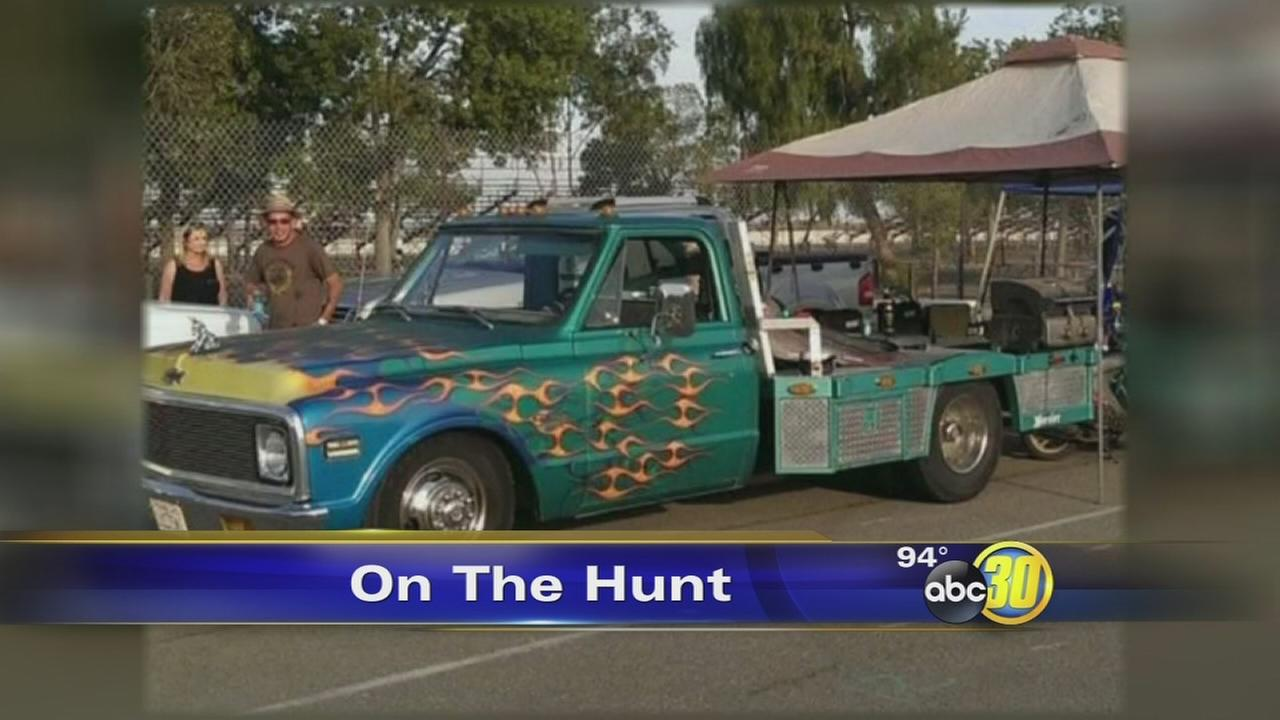 Custom truck built by father and son stolen in Lemoore