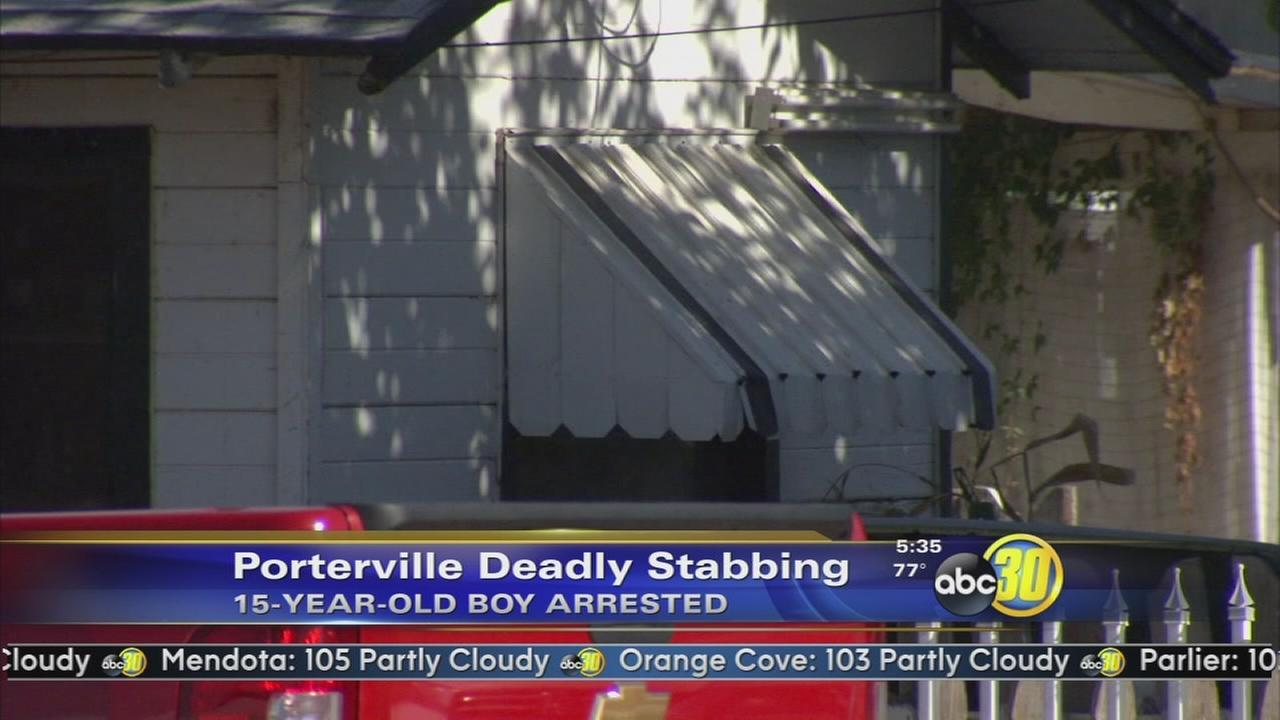 Teen arrested in Bakersfield in Porterville stabbing case