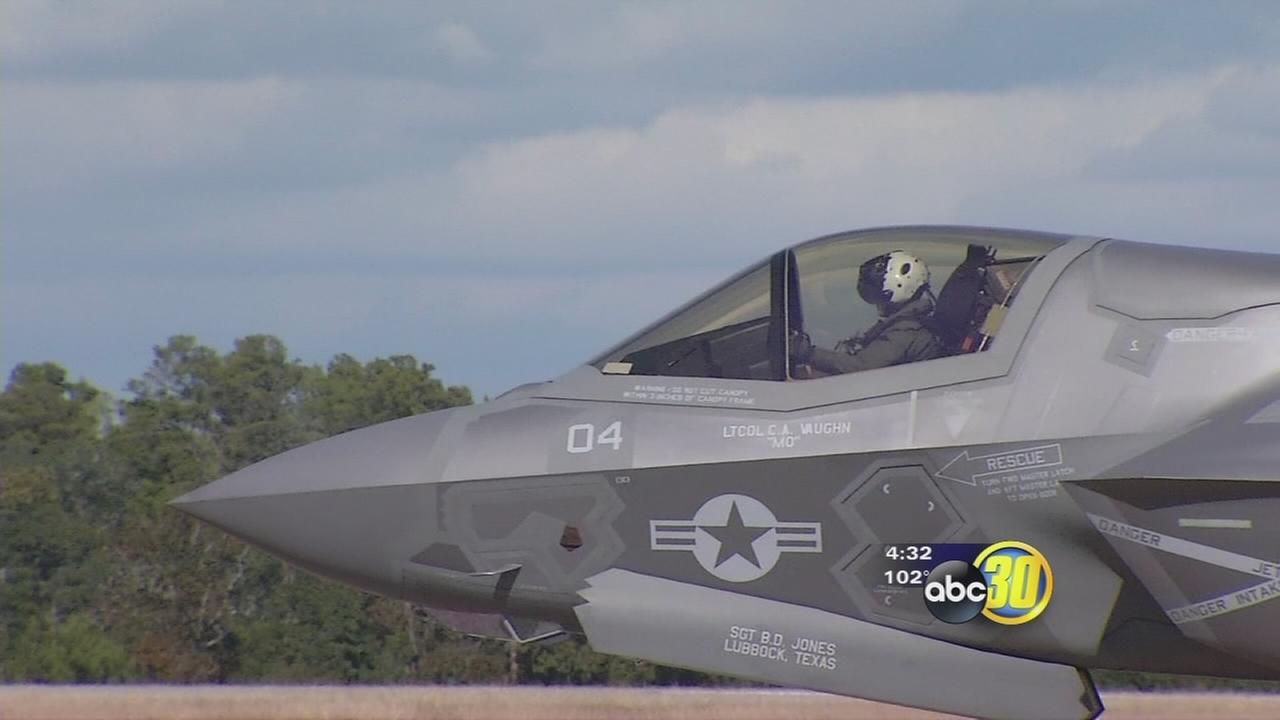 NAS Lemoore is preparing for the F-35C Strike Fighter Jet