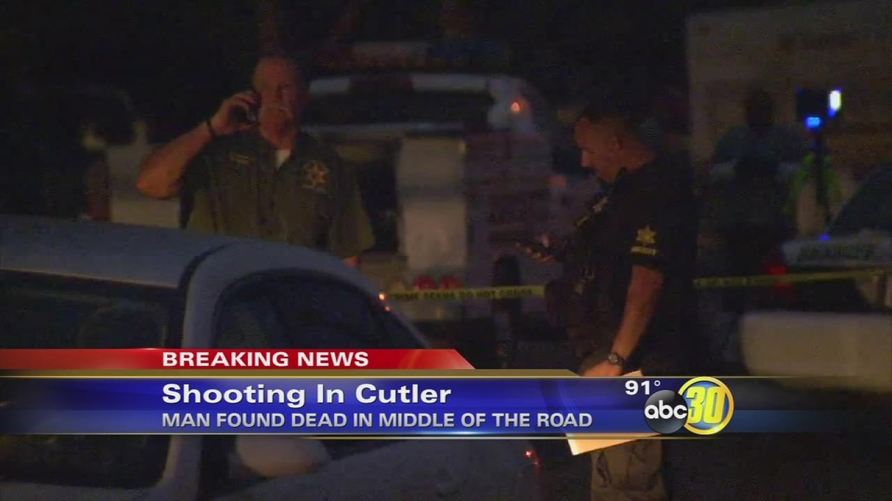 Fatal shooting investigation in Cutler