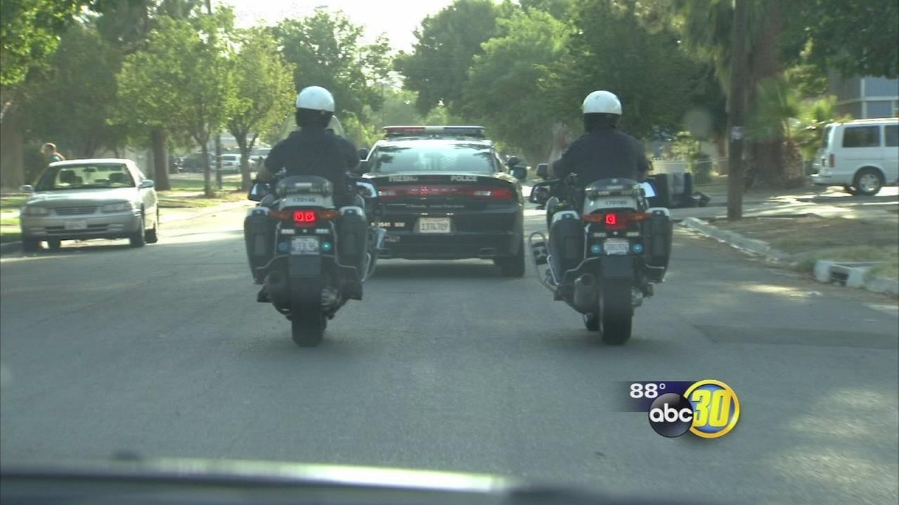 30 Police officers going to Northwest Fresno as part of operation